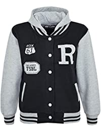 A2Z 4 Kids Enfants Filles Garçons R Fashion Fox Baseball Encapuchonné Veste  Varsity Sweat À Capuche eaf5418c2db