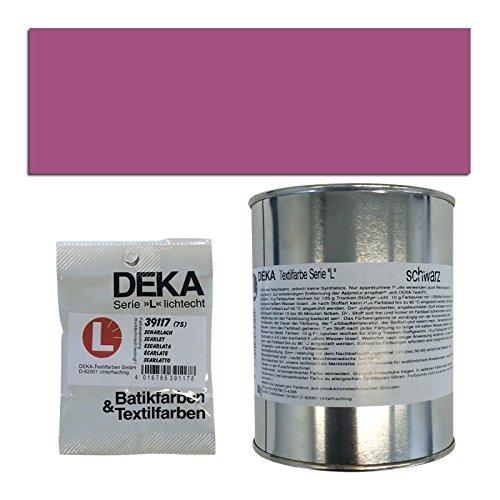 Preisvergleich Produktbild NEU DEKA-Textilfarbe Serie L, 500g, Bordo