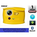 """WOXAN Q1 DLP Android 5.1 WiFi Bluetooth HD 3D Battery Projector 150"""" Display 2000 Lumens"""
