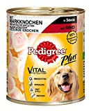 Pedigree Dose Adult Plus Markknochen mit Rind in Sauce, 800 g