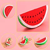 GOODCULLER Jumbo Kawaii Soft Slow Rising Squishies Toys Scented Squeeze Watermelon Stress Relief Toy Relieve Stress Cure Gift