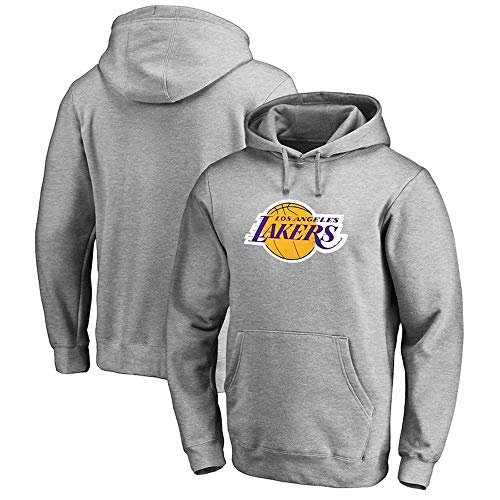 NBA Männer Hoodie Los Angeles Lakers Basketball Pullover Teen Sport Jersey