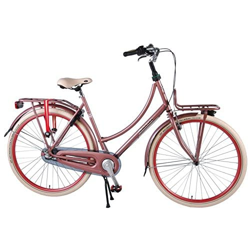 51D2Ey%2BsA4L. SS500  - Salutoni Excellent 28 Inch 50 cm Woman 3SP Coaster Brake Pink