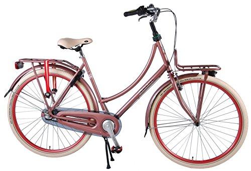51D2Ey%2BsA4L - Salutoni Excellent 28 Inch 56 cm Woman 3SP Coaster Brake Pink