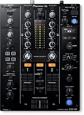 Pioneer Djm 450 2 Channels Dj Mixer with Effect and Rekordbox Dj/Dvs License