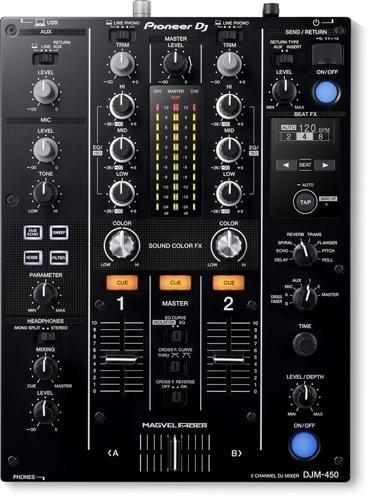 Pioneer Djm 450 Mesa de Mezclas de 2 Canales con licencia para Rekordbox Dj/Dvs