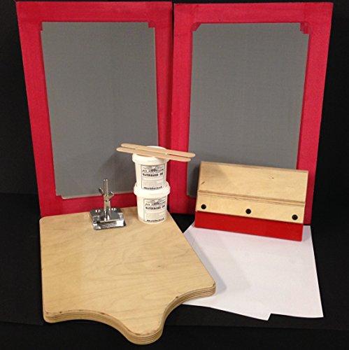 SIEBDRUCK-Set Hobby Starter Kit A4komplett-Set (Silkscreen-drucken)