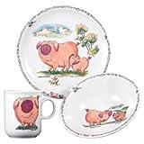 Seltmann Weiden  001.654561 Kinder-Set 3-tlg. Compact Piggeldy & Frederick
