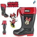 Minnie Mouse Bottes en caoutchouc bottes de pluie Bottes Taille 28* NOUVEAU * OVP *
