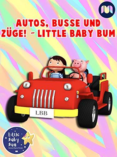 Autos, Busse und Züge! - Little Baby Bum Derek Boot
