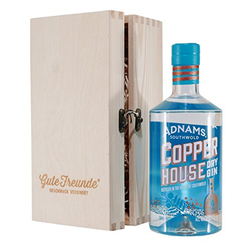 Adnams Copper House London Dry Gin mit Geschenk-HK Adnams Copper House Dry Gin