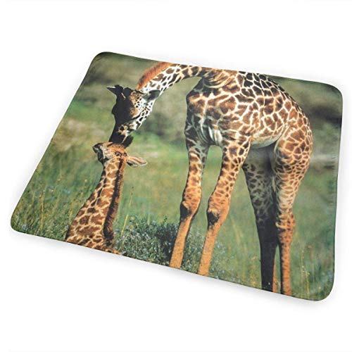 Zcfhike Changing Pad Giraffe, Mother Baby Portable Diaper Changing Pad - for Baby Showers Changing Mats and Reusable Detachable Wipe Able Mat- Unisex -