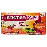 Plasmon Sughetto Ragù di Manzo - 12 confezioni da 2 pezzi da 80 g [24 pezzi, 1920 g]