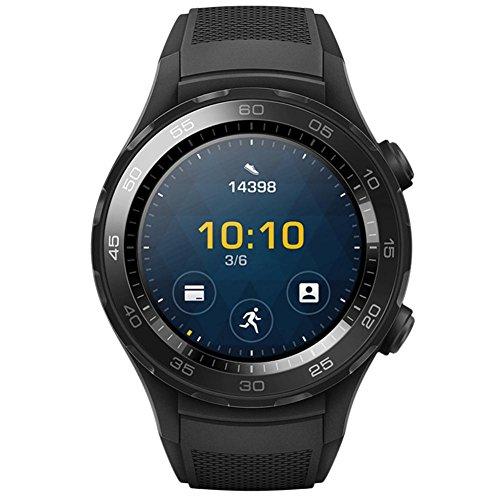 Signore orologio digitale,sonnena cinturino cinturino in silicone di nuova moda sport per huawei watch 2 orologio infermiere orologio digitale uomo (nero, standard)