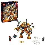 LEGO Super Heroes - Batalla contra Molten Man, Juguete de Construcción para recrear las Aventuras de Spiderman (76128)