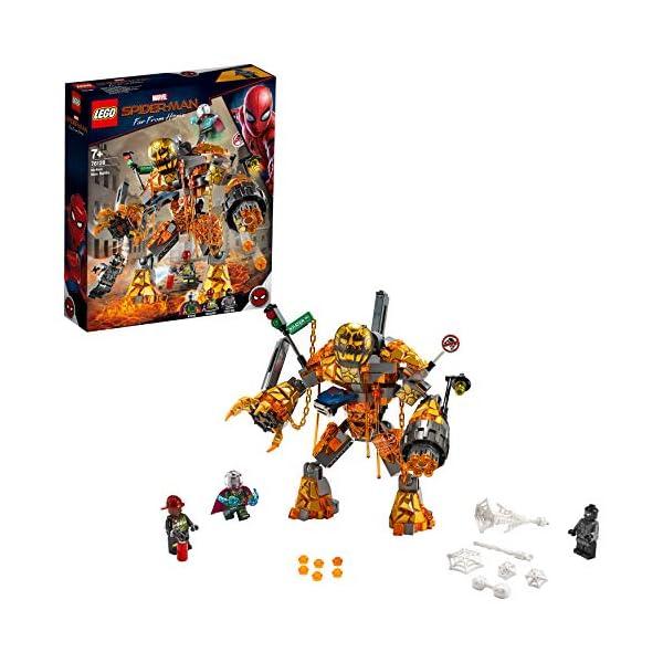 LEGO- Super Heroes Marvel la Battaglia di Molten Set di Costruzioni per Bambini, da +7 Anni ed Appassionati, Multicolore… 2 spesavip