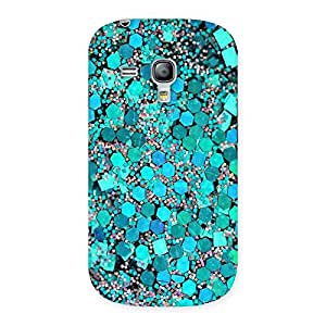 Paper Green Print Back Case Cover for Galaxy S3 Mini