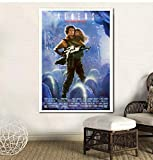 UDIYXC Film Vintage Affiche Aliens Toile Peinture Imprimer Home Decor Wall Art Photos No Frame, 50x70cm