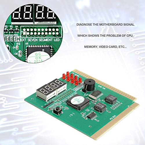 Lorenlli Fit Maikou 4 Digit Mainboard PCI PC Computer Motherboard Professionelle Diagnose Analyzer Karte Tester für Desktop-PC
