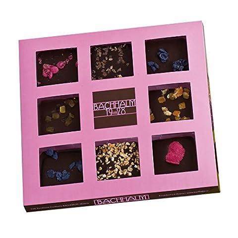 Bachhalm Schokolade Genussbox, verschiedene Sorten, exklusive Vollmilch- und Zartbitterschokolade (Schokolade Mit Namen)