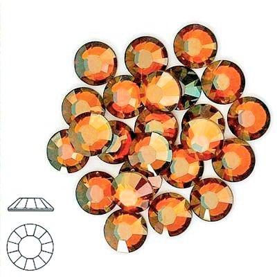 Tamis en cuivre cabochons strass en cristal Swarovski 1443.2mm ss12, Size 16Ss 3.8Mm