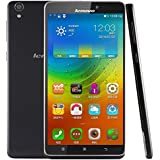 Lenovo Note 8 A936 Golden Warrier 4G SIM Free Smartphone 6.0 inch RAM 1GB ROM 8GB 13MP Android 4.4 MT6752 Octa Core 1.7GHz, FDD-LTE/WCDMA/GSM (Black)