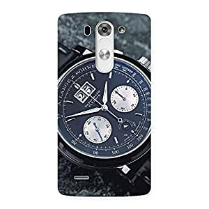 Special Wrist Watch Multicolor Back Case Cover for LG G3 Beat