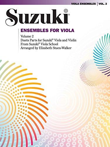 Ensembles for Viola, Volume 2 (Viola) (Suzuki Viola School) (English Edition)