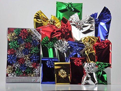 Set paquetes regalo.Con acabado metalizado