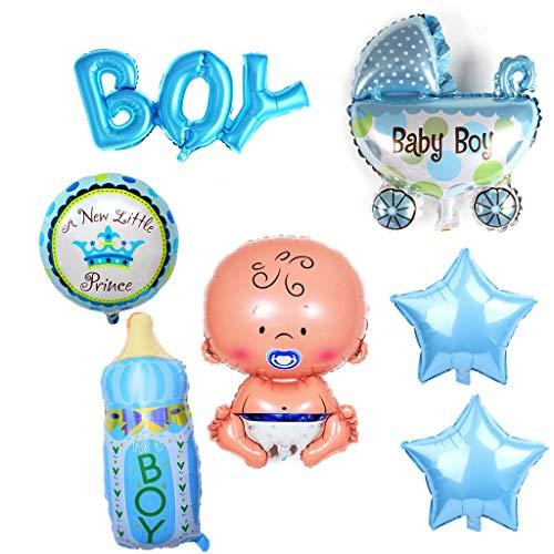iumballon Baby Folienballon Baby Dusche Dekoration,Babyshower It's a Boy Babyparty Party und Dekoration (Junge) ()