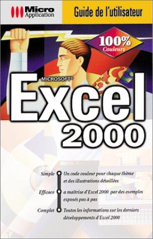 Guide utilisateur Excel 2000, cédérom par Databeker