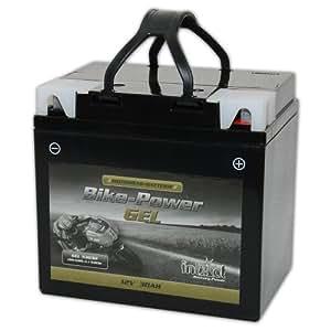 Intact 53030 (C 60-N30L-A) Batterie gel pour moto Remplace Ms53030 - 52515 - C60-N24AL-B - Y60-N24AL-B - Y60-N30L-A - 52816 - Y60-N24L-A - 04439762 - 530030030 - 525015022 - 528400030 - Y60N24L-A