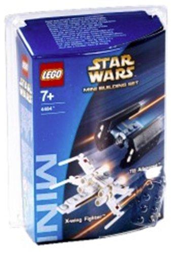 LEGO 4484 MINI X-Wing Fighter & TIE Advanced