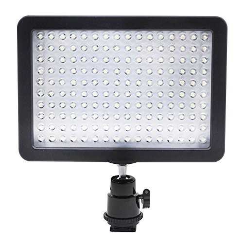 bestlight-ultra-high-power-160-led-video-light-panel-with-shoe-adapter-for-canon-nikon-olympus-penta