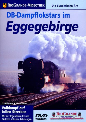 DB-Dampflokstars im Eggegebirge