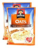#7: Big Bazaar Combo - Quaker Oats Kesar with Kishmish, 40g (Pack of 2) Promo Pack