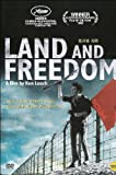 Land And Freedom (1995) Region 1,2,3,4,5,6 Compatible DVD. A film by Ken Loach starring Ian Hart and Rosana Pastor.
