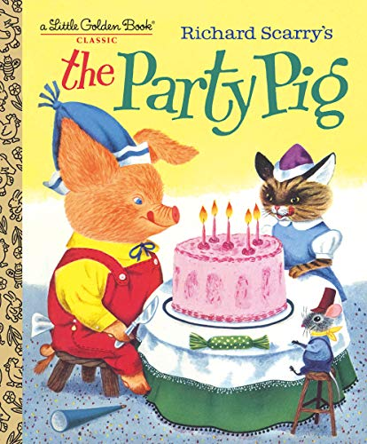 The Party Pig (Little Golden Book) (English Edition)