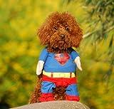 Better Dealz Superman-Kostüm für Hunde und Katzen