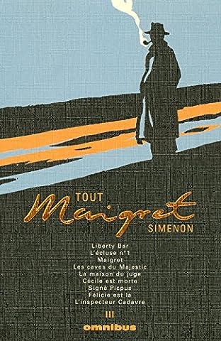 Simenon Maigret - Tout Maigret T3