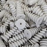 100 Stück imex Dämmstoffdübel 50 x 20 mm Hartschaumdübel Styropordübel Spiraldübel Dübel Isolierdübel