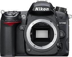 Nikon D7000 Appareil photo numérique Reflex 16.2 Boîtier nu Noir (Reconditionné Certifié)