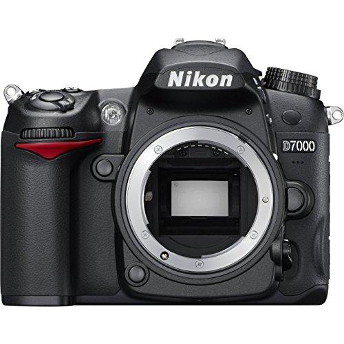 Nikon D7000 SLR-Digitalkamera (16 Megapixel, 39 AF-Punkte, LiveView, Full-HD-Video) schwarz (Zertifiziert und Generalüberholt)
