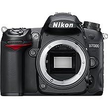 Nikon D7000 - Cámara réflex digital de 16.2 Mp (pantalla 3in), color negro - sólo cuerpo [importado] (Reacondicionado)