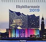 Elbphilharmonie 2019 - Postkartenkalender