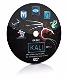#9: Kali Linux 2017.1 (64 bit) Live/Install DVD, Penetration Testing and Ethical Hacking