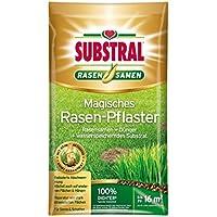 Substral Magic Lawn Patch, reparaciones de césped, semillas de césped, sustrato de primera calidad y fertilizante, 3,6 kg hasta 16 m²