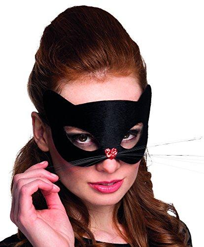 Generique - Schwarze Panthermaske für Damen