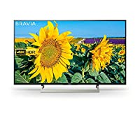 Sony Bravia KD49XF8096 49-Inch Android 4K HDR Ultra HD TV with Voice Remote/YouView and Freeview HD - Black (2018 Model)