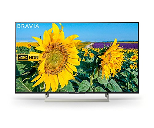 Sony Bravia KD49XF8096 49-Inch Android 4K HDR Ultra HD TV with Google Assistant, YouView and Freeview HD - Black (2018 Model)
